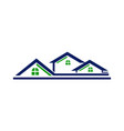 house roof line vector image vector image