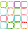 mod square frames vector image vector image