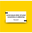 remark quote text box poster template concept vector image vector image