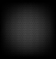 speaker grille black background stylish vector image
