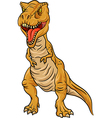 Tyrannosaurus Rex character isolated vector image vector image