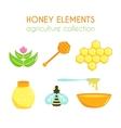 honey set Bee design Cartoon vector image