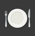 utensil in flat style vector image