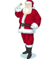 Christmas Character Santa Claus cartoon vector image