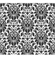 damask seamless pattern background Elegant vector image vector image
