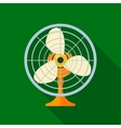 Fan icon vector image vector image
