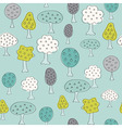 Fruit Garden trees vector image