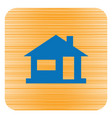 home icon house silhouette vector image vector image