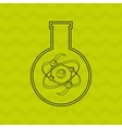 scientific laboratory design vector image vector image