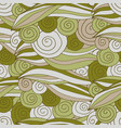 seamless pattern swirl and line vector image vector image