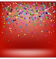 Set of Colorful Stars Starry Pattern vector image vector image