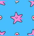 starfish pattern vector image