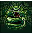viper esport mascot logo design vector image vector image