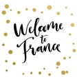Welcoming sign for tourists vector image vector image