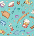 Baking toole background vector image