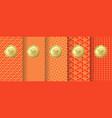 chinese seamless patterns premium vintage vector image