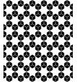 hexagons seamless pattern vector image