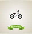 realistic balance element of vector image vector image