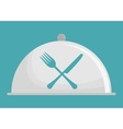 restaurant related icons emblem vector image