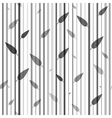 Seamless black and white pattern of stovolov trees