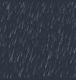 seamless rainfall texture rain drop effect vector image