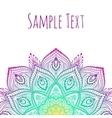 Beautiful Mandala vector image vector image