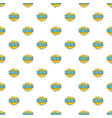 comic boom bam pattern seamless vector image vector image