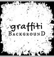 graffiti wall background fashion texture vector image vector image