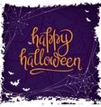 Happy Halloween Calligraphy vector image
