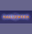 happy halloween card design lettering vector image