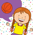 kids sports vector image vector image