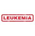 Leukemia Rubber Stamp vector image