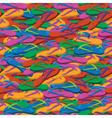 Summer flip flops seamless pattern vector image vector image