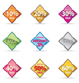 Thal Glossy Button Icon sample special promotion vector image