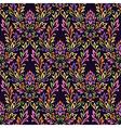 pattern ornament flower vector image