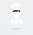 Chief cook icon Isolated on white vector image