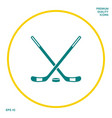 hockey symbol icon graphic elements for your vector image