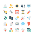 Internet Icons 2 vector image vector image