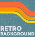 retro grunge texture background vector image vector image