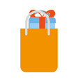 Shopping bag with gift