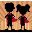 Super Kids 2 vector image vector image