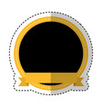 taxi service emblem icon vector image vector image