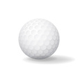 Ball for Golf Golfball icon Game symbol vector image