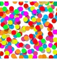 Confetti party design seamless pattern vector image vector image