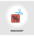 Coupon icon flat vector image vector image