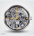 hours of gears vector image