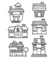 house set collection vector image vector image