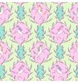 Unicorn pattern spring vector image