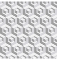 Abstract geometrical 3d white background