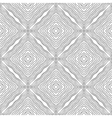 Black and white abstract pattern for colouring vector image vector image